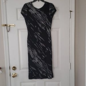 Jackee Crackled Jacquard  Dress